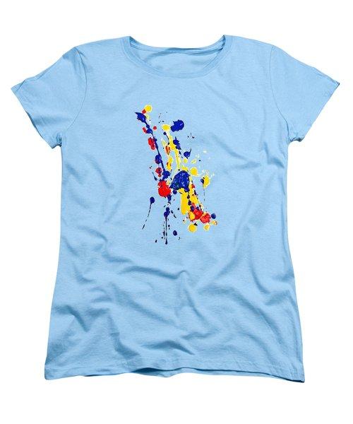 Boink T-shirt Women's T-Shirt (Standard Cut) by Herb Strobino