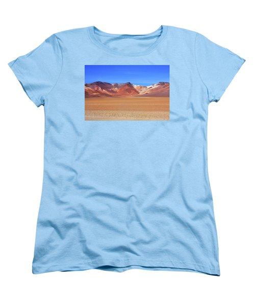 Women's T-Shirt (Standard Cut) featuring the photograph Bolivian Altiplano  by Aidan Moran