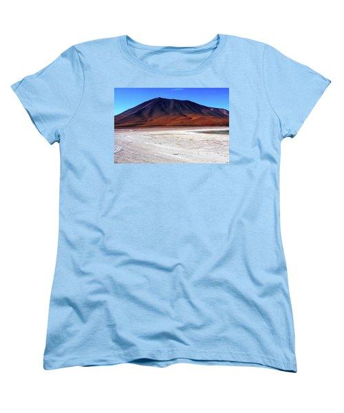 Women's T-Shirt (Standard Cut) featuring the photograph Bolivian Altiplano, South America by Aidan Moran