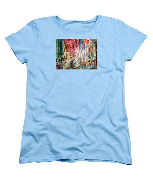 Boots On The Ground Women's T-Shirt (Standard Cut) by Heather Roddy