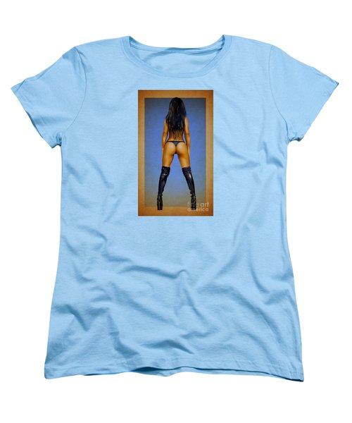 Booty Women's T-Shirt (Standard Cut) by Brian Gibbs
