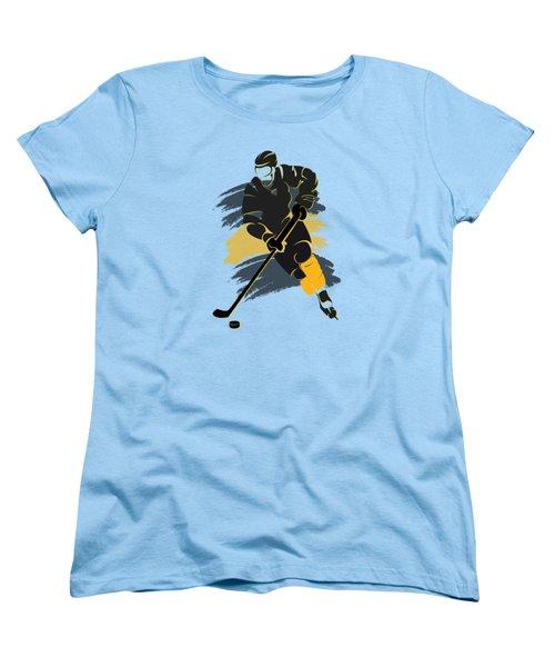 Boston Bruins Player Shirt Women's T-Shirt (Standard Cut) by Joe Hamilton