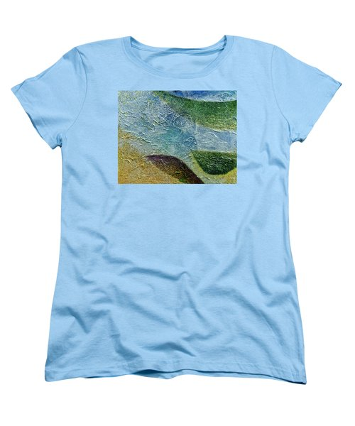 Women's T-Shirt (Standard Cut) featuring the painting Botany I by John Hansen
