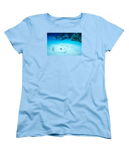 Women's T-Shirt (Standard Cut) featuring the photograph Bottom Dweller by Aaron Whittemore