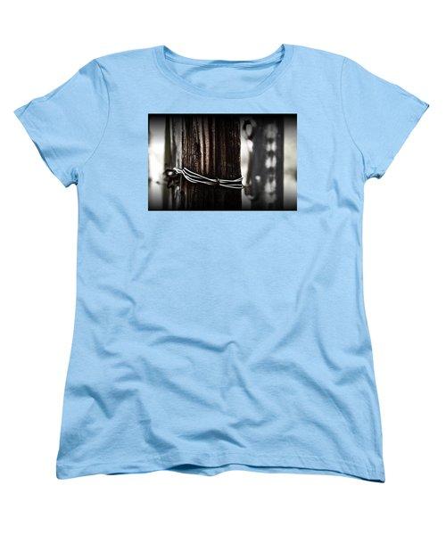 Women's T-Shirt (Standard Cut) featuring the photograph Bound  by Mark Ross