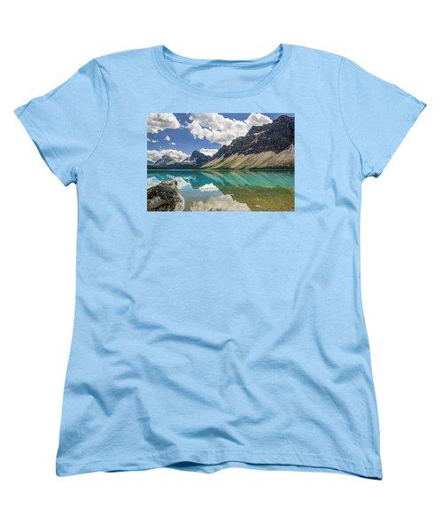 Women's T-Shirt (Standard Cut) featuring the photograph Bow Lake by Christina Lihani