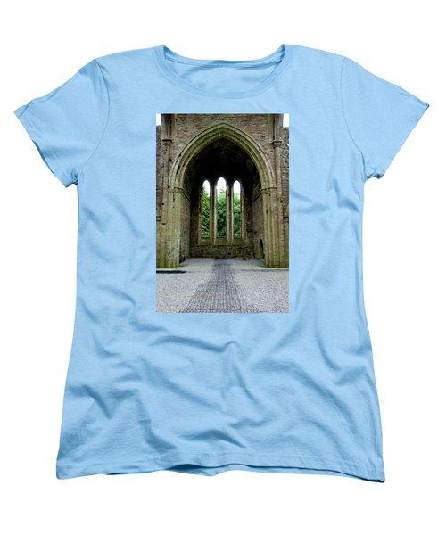 Boyle Abbey In Ireland 2 Women's T-Shirt (Standard Cut) by Michelle Joseph-Long