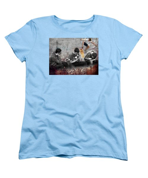Boys Will Be Women's T-Shirt (Standard Cut) by Judi Saunders