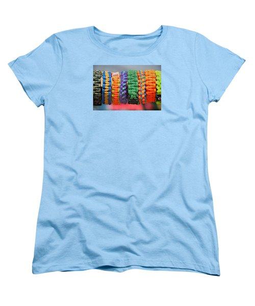 Women's T-Shirt (Standard Cut) featuring the photograph Bracelets by Lewis Mann