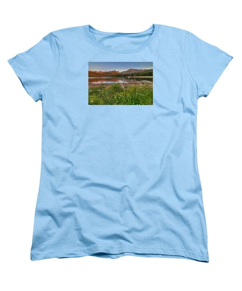 Women's T-Shirt (Standard Cut) featuring the photograph Brainard Lake by Gary Lengyel