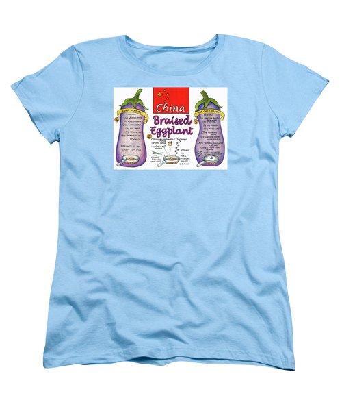 Braised Eggplant Women's T-Shirt (Standard Cut)