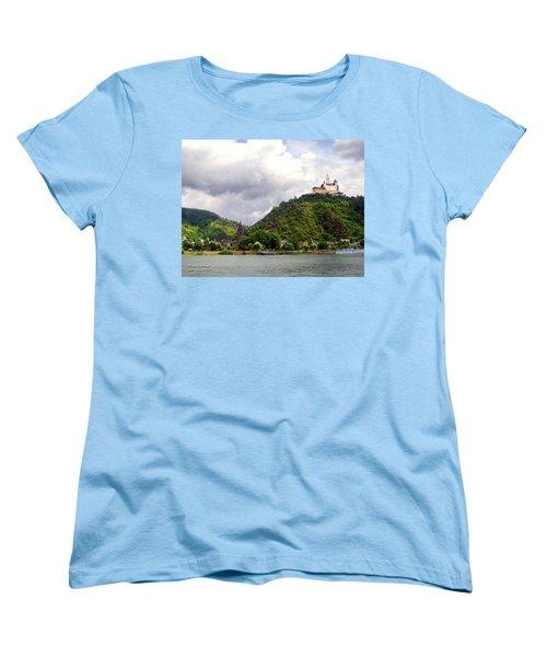Women's T-Shirt (Standard Cut) featuring the photograph Brambach Germany by Joan  Minchak