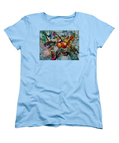 Branches Of Fruit Women's T-Shirt (Standard Cut) by Joanne Smoley
