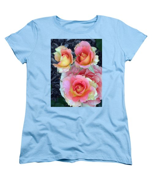 Brass Band Roses Women's T-Shirt (Standard Cut) by Living Color Photography Lorraine Lynch