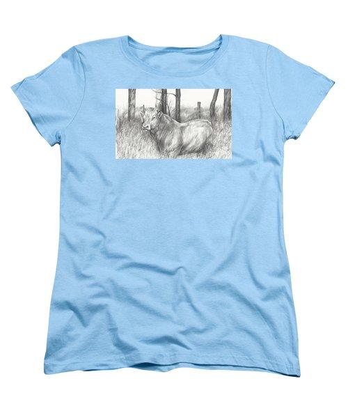 Breaker Study Women's T-Shirt (Standard Cut) by Meagan  Visser