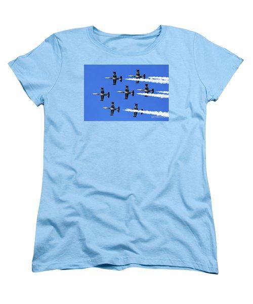 Breitling Air Display Team L-39 Albatross Women's T-Shirt (Standard Cut) by Nir Ben-Yosef
