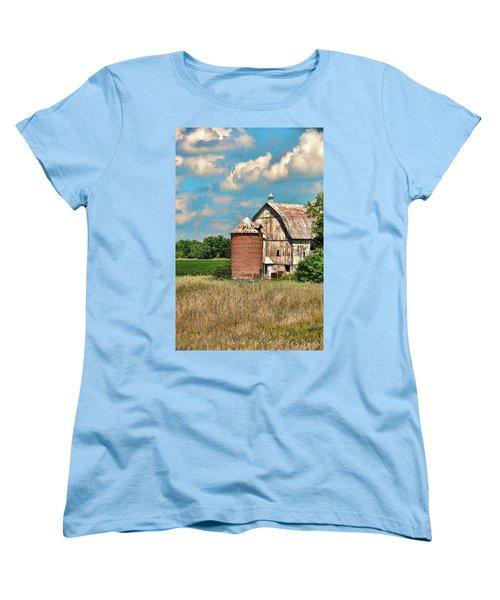 Brick Silo Women's T-Shirt (Standard Cut) by Trey Foerster