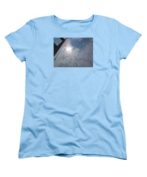 Bridge Meet Sky Women's T-Shirt (Standard Cut) by John Rossman