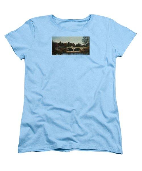 Bridges Of Forest Park Iv Women's T-Shirt (Standard Cut) by Michael Frank