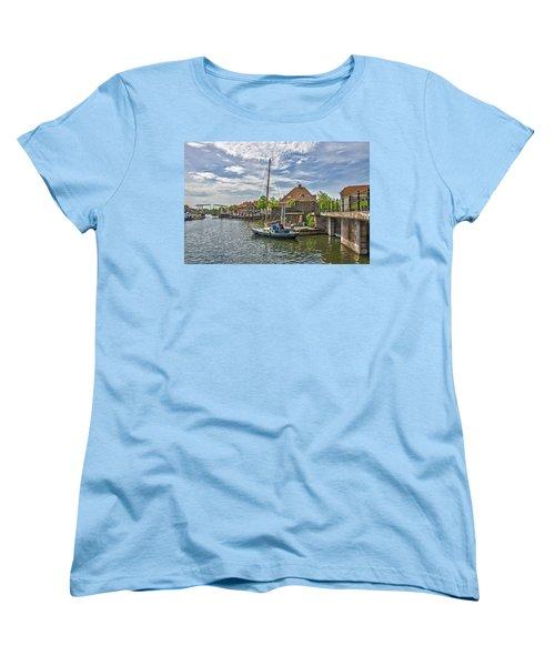 Brielle Harbour Women's T-Shirt (Standard Cut) by Frans Blok