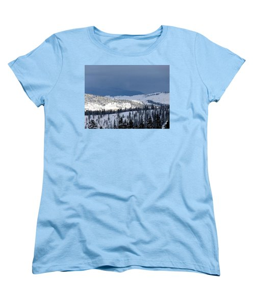 Women's T-Shirt (Standard Cut) featuring the photograph Bright Patch Of Sunshine by Will Borden