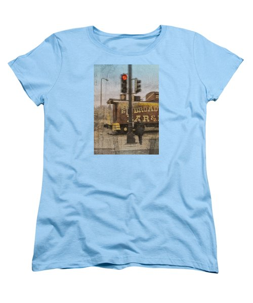 Broadway Bar Women's T-Shirt (Standard Cut) by Susan Stone