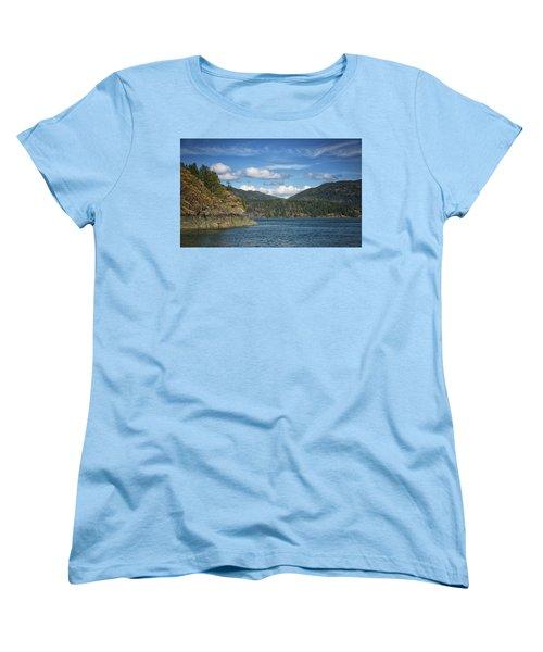 Browns Bay Women's T-Shirt (Standard Cut) by Randy Hall