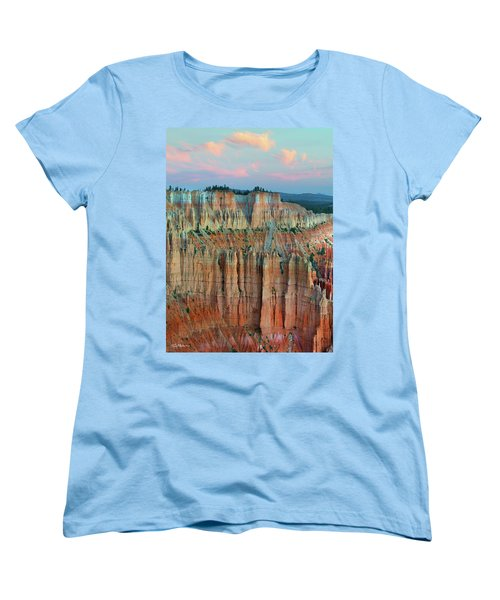 Bryce Canyon Women's T-Shirt (Standard Cut) by Tim Fitzharris