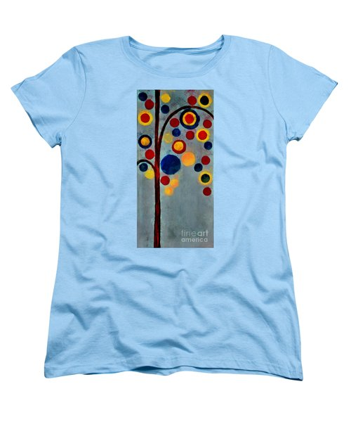 Bubble Tree - Dps02c02f - Right Women's T-Shirt (Standard Cut) by Variance Collections