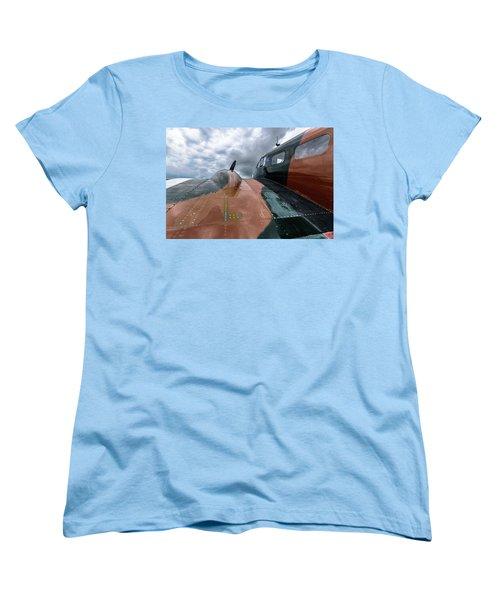 Bucket Of Bolts Women's T-Shirt (Standard Cut) by Randy Scherkenbach