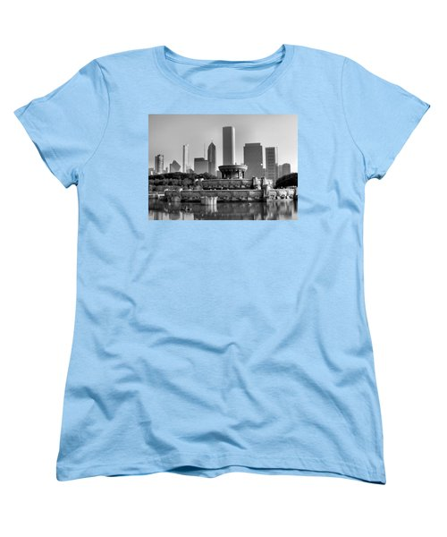Buckingham Fountain - 2 Women's T-Shirt (Standard Cut) by Ely Arsha
