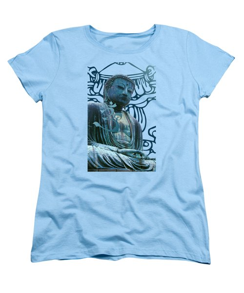Buddha Great Statue Women's T-Shirt (Standard Cut) by Robert G Kernodle