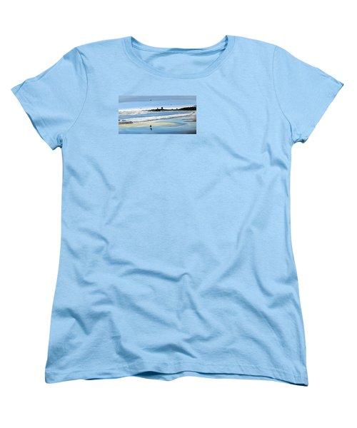 Bull Beach 2 Women's T-Shirt (Standard Cut) by Marilyn McNish