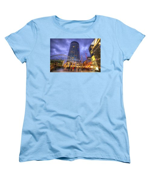 Bullring Centre Women's T-Shirt (Standard Cut) by Yhun Suarez