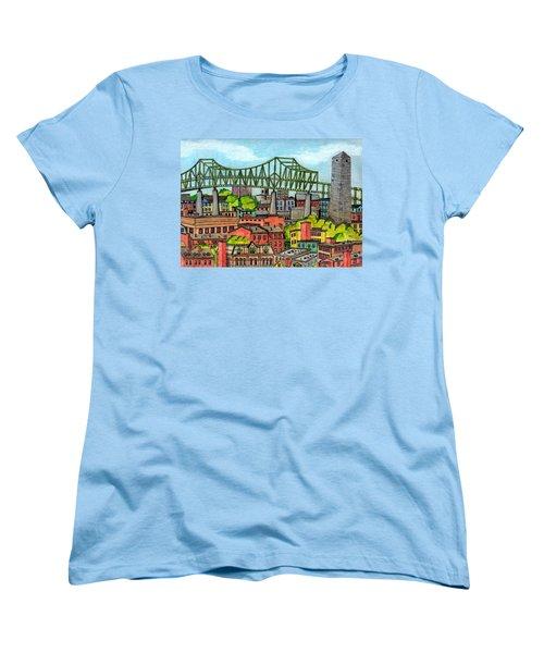 Bunkerhill And Tobin Women's T-Shirt (Standard Cut)