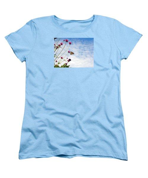 Butterfly Magic Women's T-Shirt (Standard Cut) by Teresa Schomig