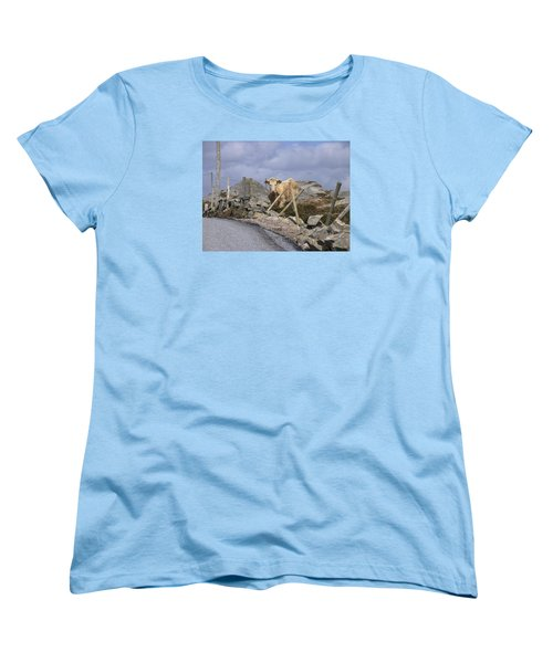 Women's T-Shirt (Standard Cut) featuring the photograph Butterscotch by Suzanne Oesterling