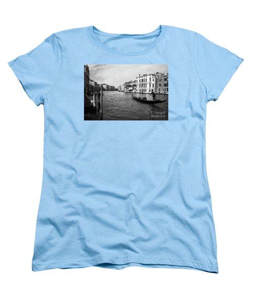 Bw Venice Women's T-Shirt (Standard Cut) by Yuri Santin