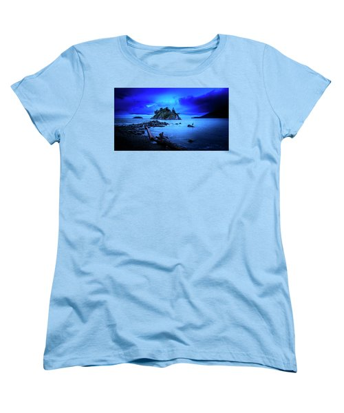By The Light Of The Moon Women's T-Shirt (Standard Cut) by John Poon