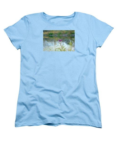 By The Pond Women's T-Shirt (Standard Cut) by Lila Fisher-Wenzel