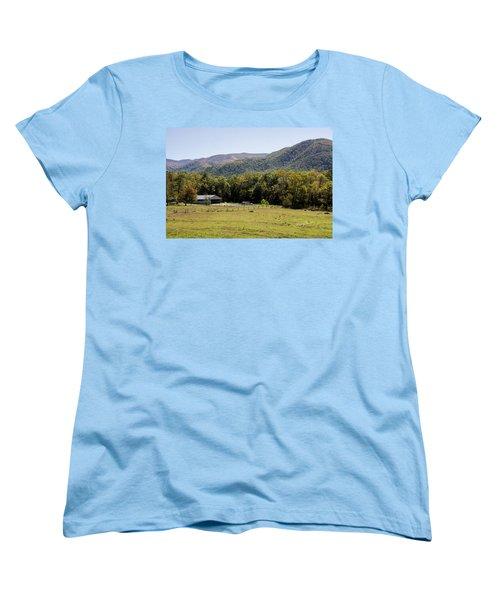 Cades Place Women's T-Shirt (Standard Cut) by Ricky Dean