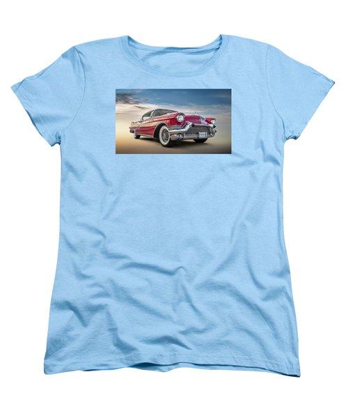 Women's T-Shirt (Standard Cut) featuring the digital art Cadillac Jack by Douglas Pittman