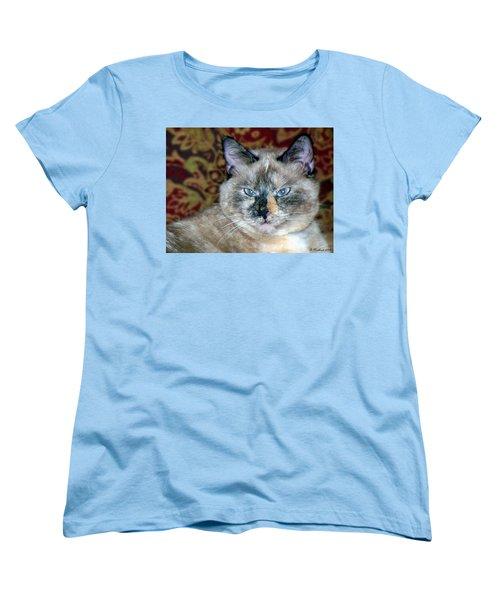 Women's T-Shirt (Standard Cut) featuring the photograph Cali-mese by Betty Northcutt