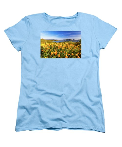 California Dreamin Women's T-Shirt (Standard Cut) by Tassanee Angiolillo