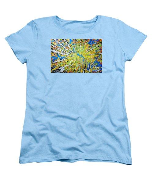 Calming Canopy Women's T-Shirt (Standard Cut) by Jackie Carpenter