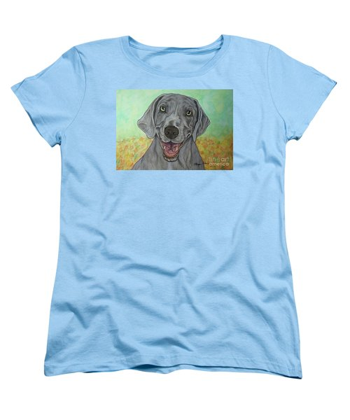 Camden The Weimaraner Women's T-Shirt (Standard Fit)