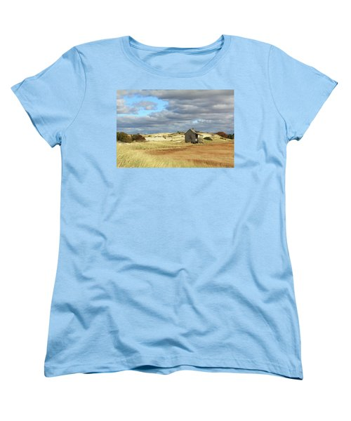 Camp On The Marsh And Dunes Women's T-Shirt (Standard Cut) by Roupen  Baker
