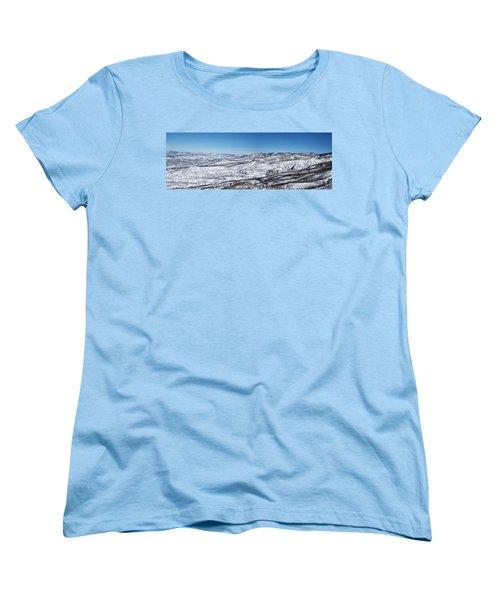 Can You Spot The Volcano Women's T-Shirt (Standard Cut) by Sean Allen