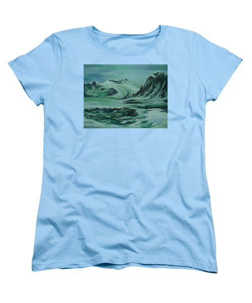 Canadian North Women's T-Shirt (Standard Cut) by Anna  Duyunova