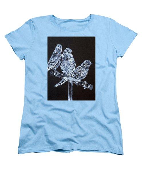 Canaries Women's T-Shirt (Standard Cut) by Fabrizio Cassetta